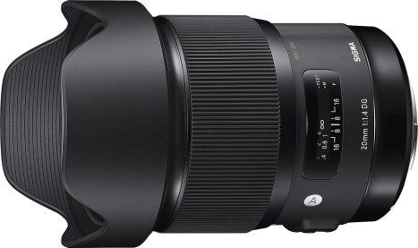 Sigma 20mm F1.4 ART DG HSM LensBlack Friday Deals 2019