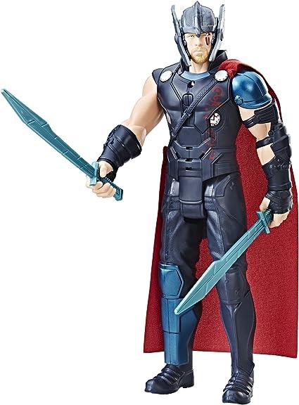 Amazon Com Marvel Thor Ragnarok Electronic Thor Toys Games