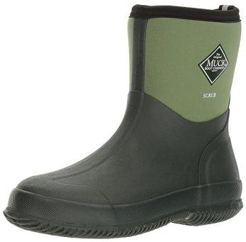 The Original MuckBoots Adult Scrub Boot,Garden Green,3 M US Mens/4 M US Womens