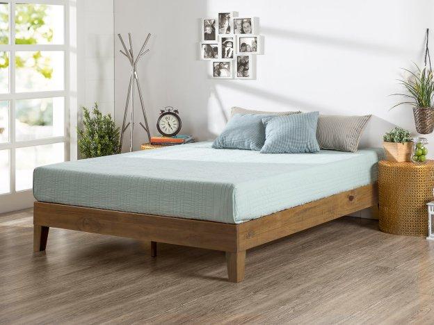 Zinus 12 Inch Deluxe Wood Platform Bed Review