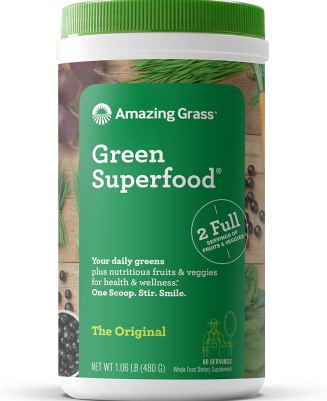 Amazing Grass Green Superfood Organic Protein Powder -
