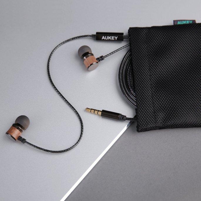 Aufbewahrungsbeutel - Aukey EP-X2 In-Ear Kopfhörer