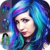 Hair Color Changer - Hairstyle Makeover Booth