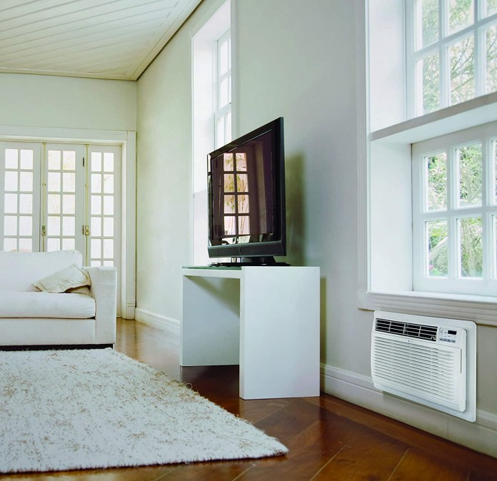 Stand alone wall mounted air conditioner