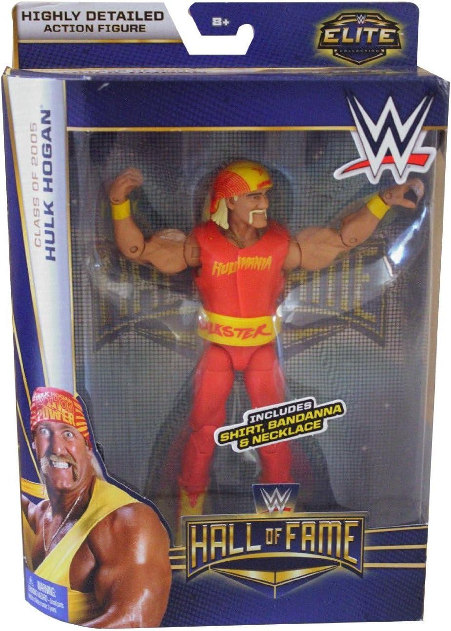 Amazon Com Mattel Wwe Elite Hall Of Fame Hulk Hogan Class Of 2005 Toys Games