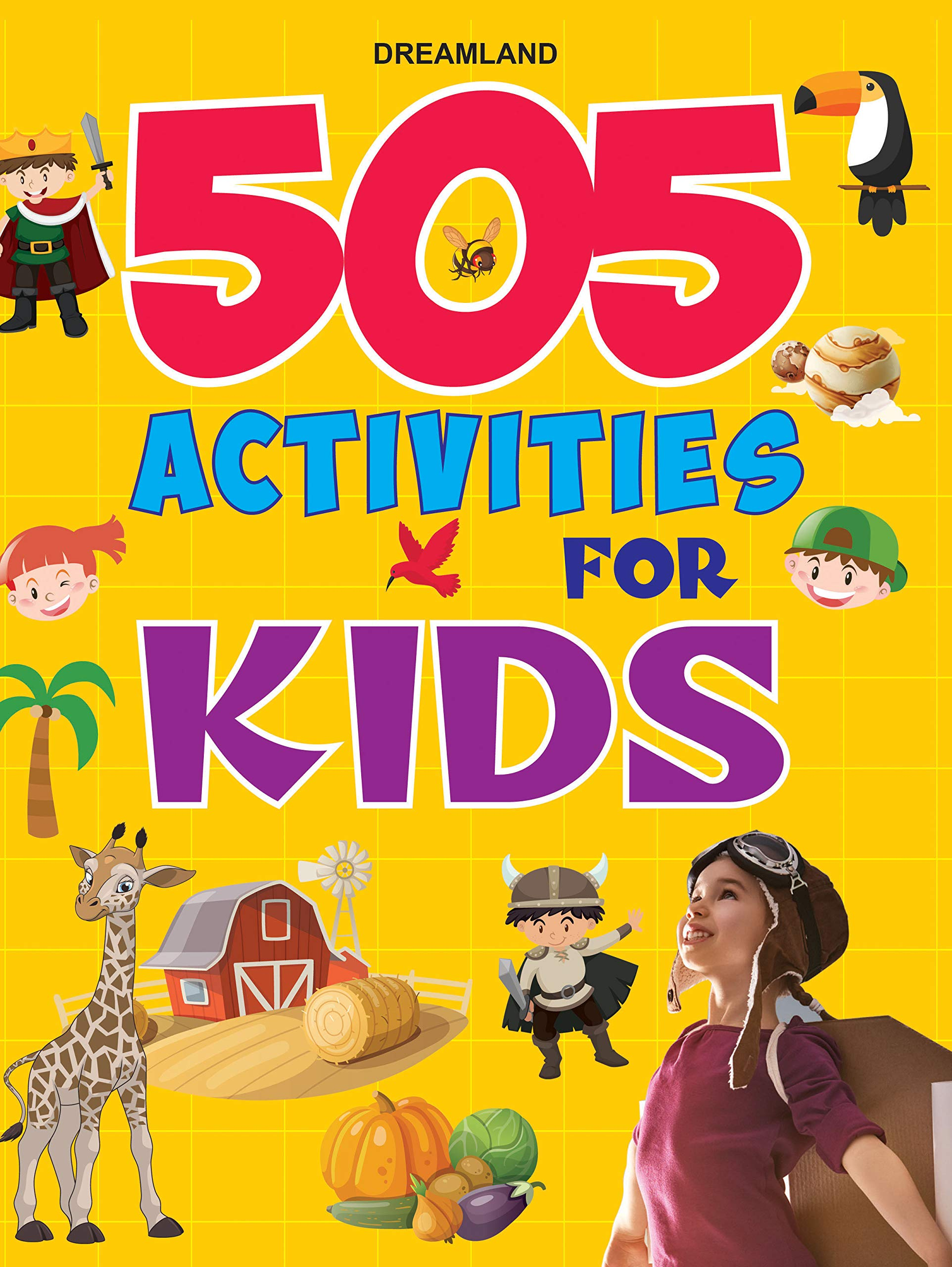 Buy 505 Activities For Kids Book Online At Low Prices In India 505 Activities For Kids Reviews Ratings Amazon In