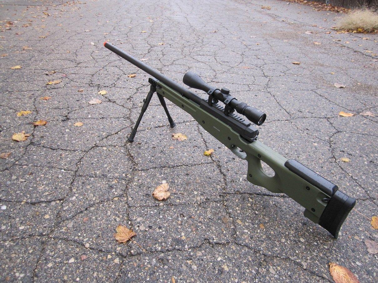 wellfire mk96 bolt action awp sniper rifle