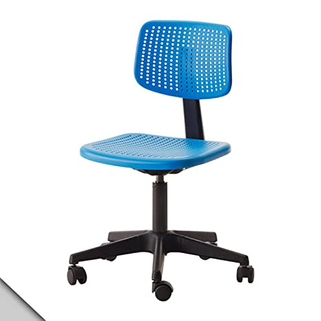 Ikea Alrik Sedia Da Scrivania Girevole Regolabile In Altezza Automaticamente Arretierende Ruote Blu