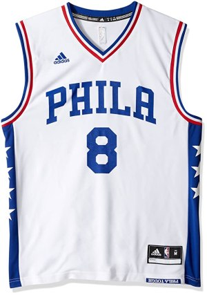 NBA Men's Philadelphia 76ers Okafor Replica Player Home Jersey