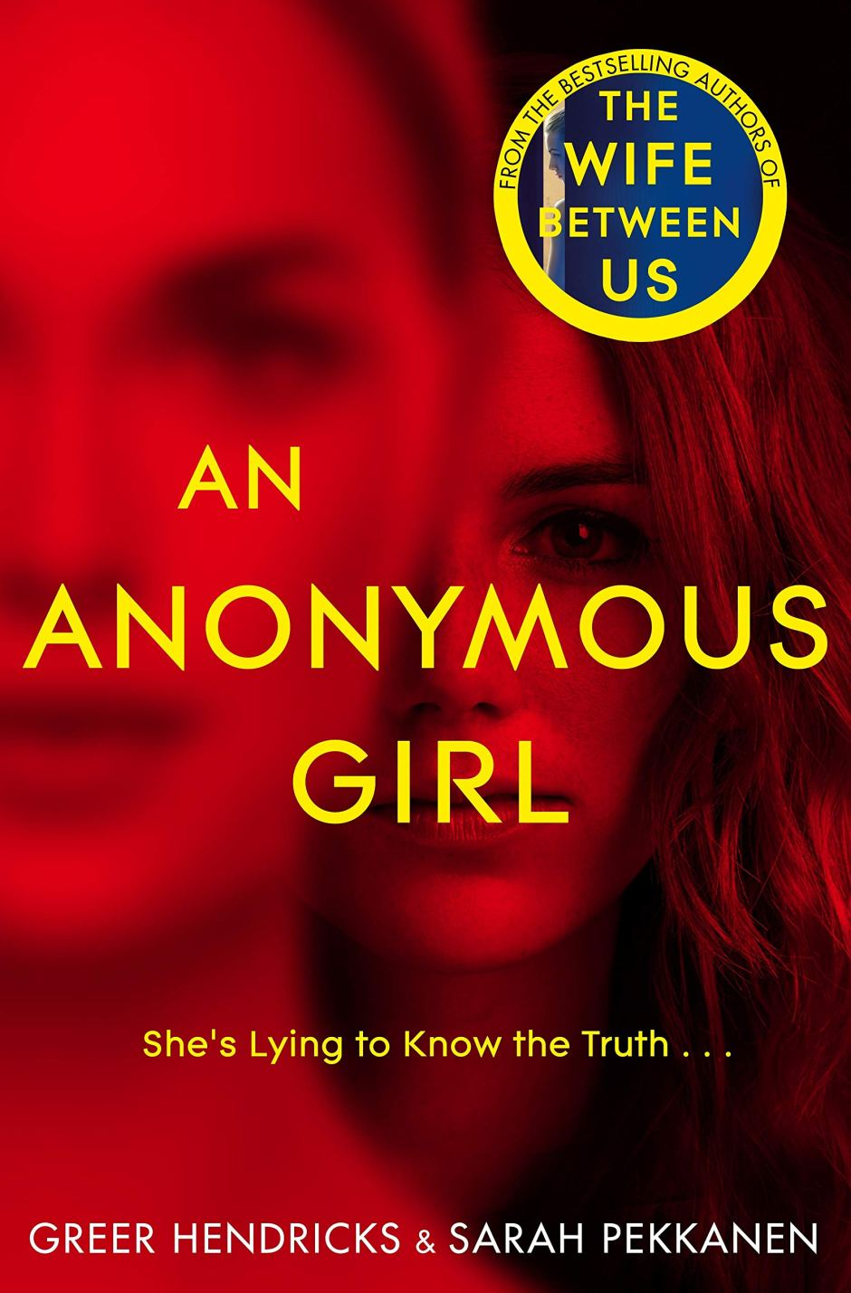 Image result for An Anonymous Girl by Greer Hendricks and Sarah Pekkanen