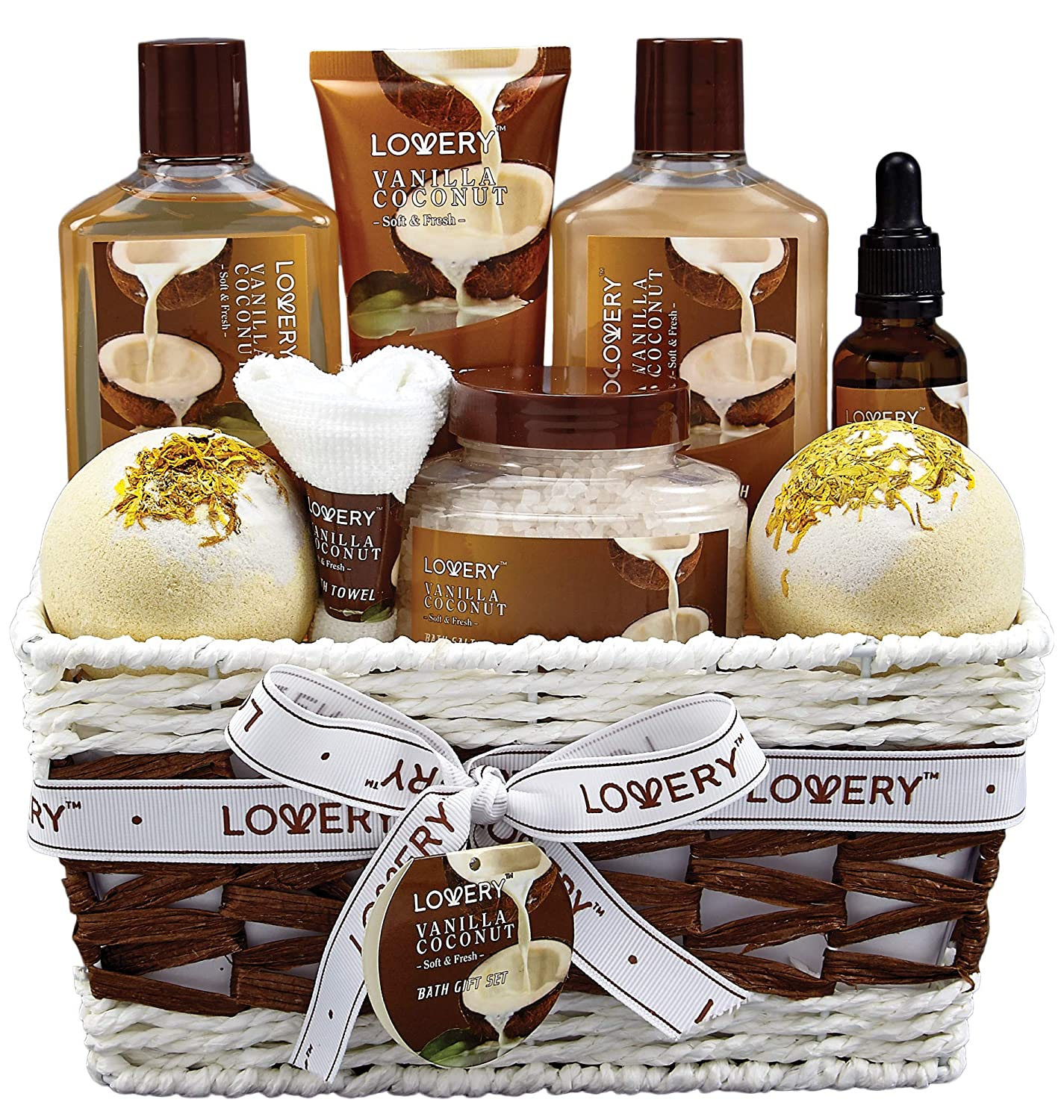 gift basket luxury bath home spa on sale, cheap, budget-friendly gifts