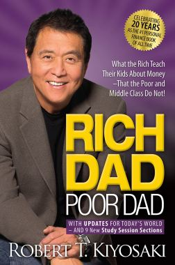 Image result for rich dad poor dad book image