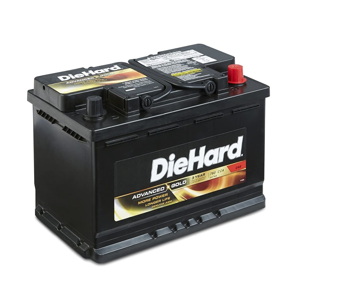 Best Car Batteries DieHard 50748 Group Advanced Gold AGM Battery GP 48