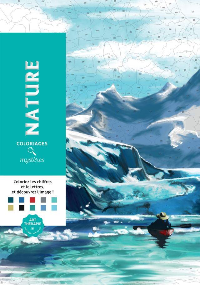 Coloriages mystères Nature: 24 coloriages mystères inédits
