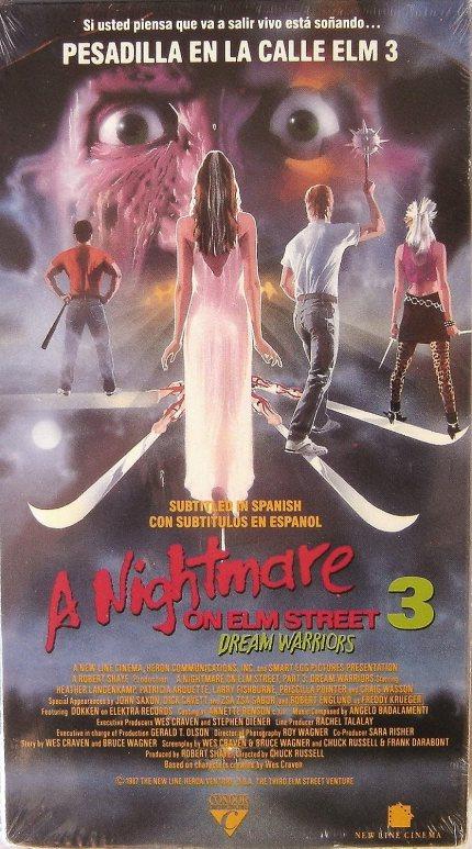 Image result for nightmare on elm street vhs
