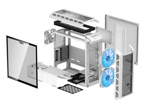 Cooler Master MasterCase H500P 分解図