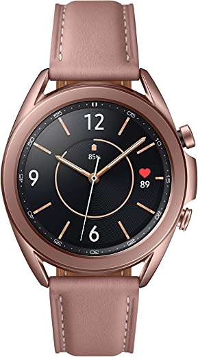 Samsung Galaxy Watch 3 (41mm, GPS, Bluetooth) Smart Watch with Advanced Health monitoring, Fitness Tracking , and Long lasting Battery - Mystic Bronze (US Version)