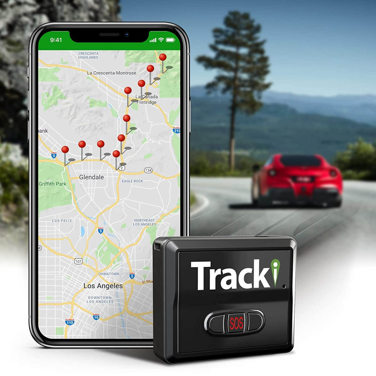 Best Car Trackers Reviews Tracki 2020 Model Mini Real-time GPS Tracker. Full USA & Worldwide Coverage