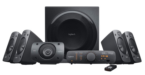 Logitech Z906 5.1 Surround Sound Speaker System Coolest Gadget