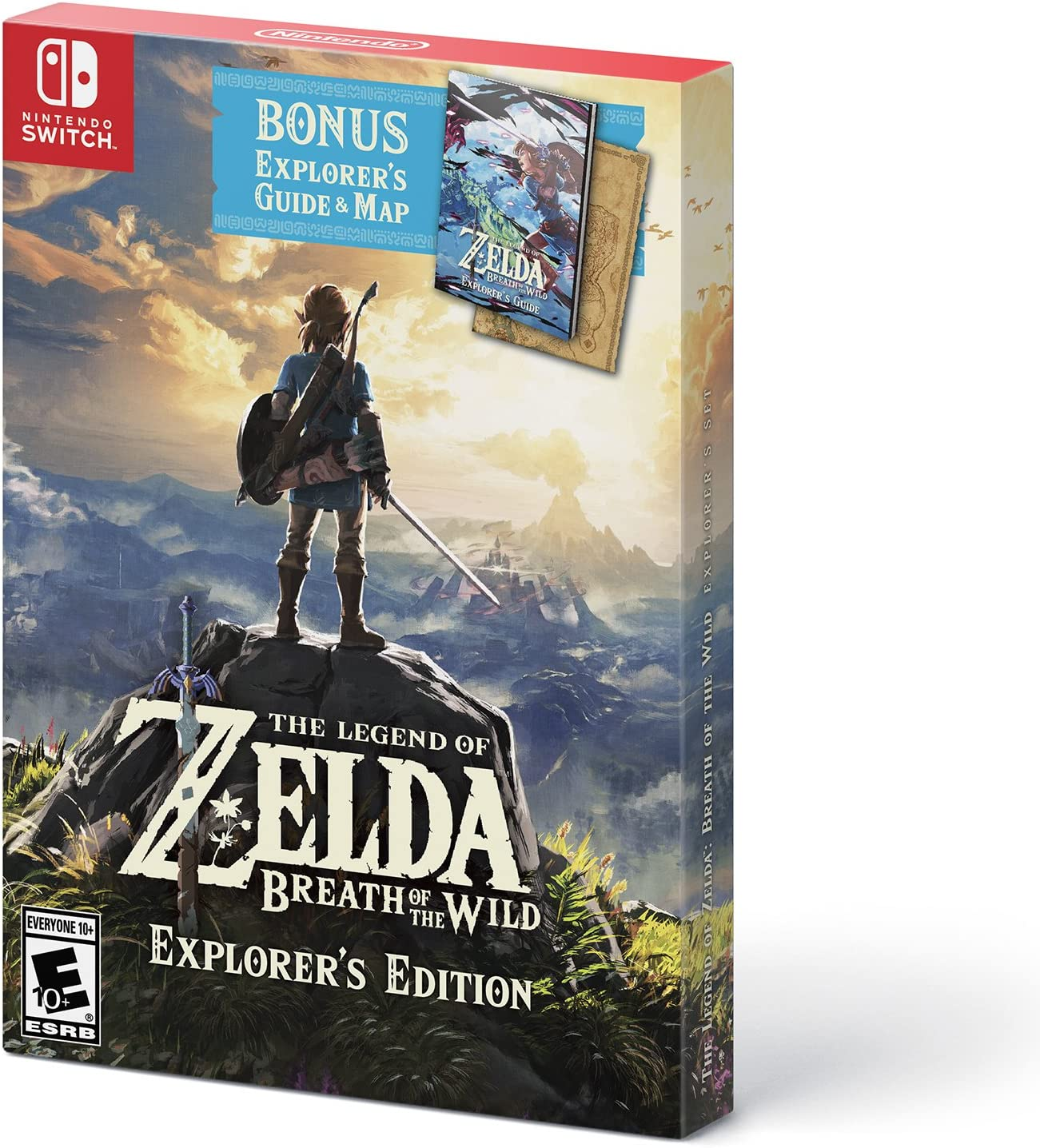 The Legend of Zelda: Breath of the Wild - Explorer's Edition
