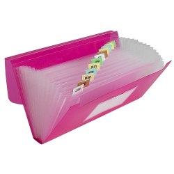 C-Line 13-Pocket Poly Expanding File