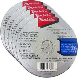 Makita 5 Pack - 4.5