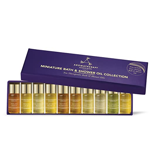 Miniature bath and shower oil collection, pamper yourself