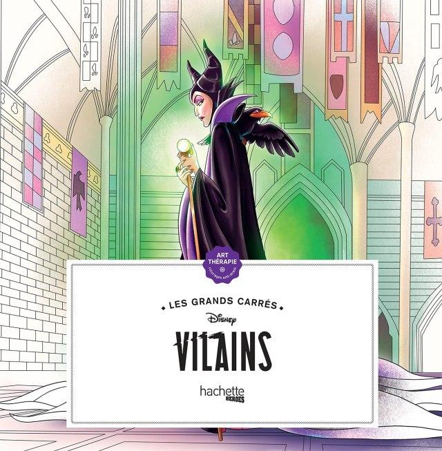 Les Grands carrés Disney Villains (Heroes) (French Edition): Karam