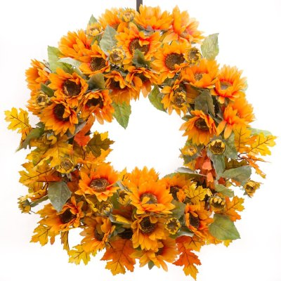 10 Fabulous Fall Wreaths