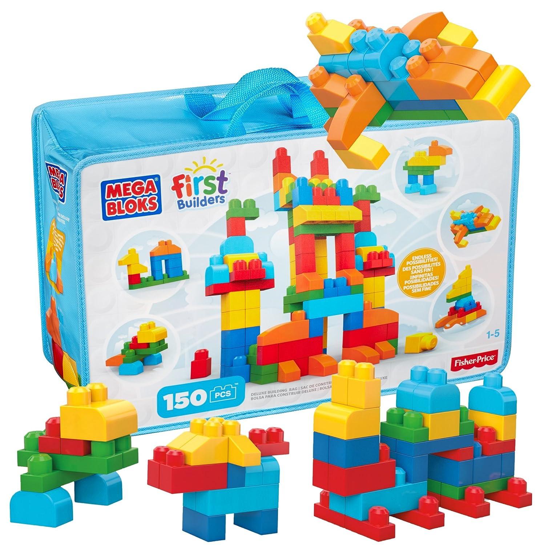 Mega Bloks Building Bag, 150-Piece