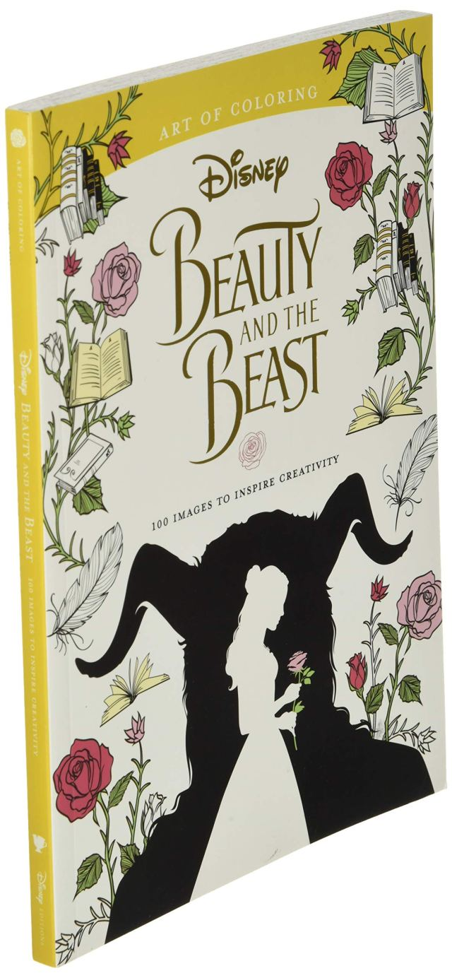 Art of Coloring: Beauty and the Beast: 29 Images to Inspire