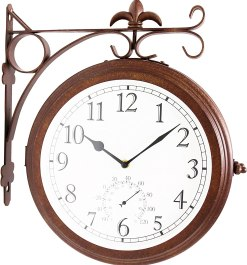 Bestime Double Sided Wall Clock