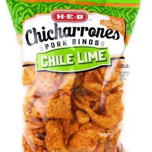 Amazon.com : HEB Chicharrones Pork Rinds CHILE LIME Flavor (Pack ...