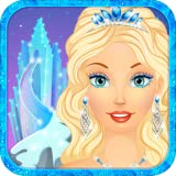 Snow Queen: Dress Up and Makeup princess makeover salon for girly girls who love fashion and virtual beauty games