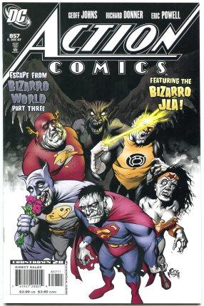 Amazon.com: Action Comics #857 2007- Escape from Bizarro World part 3- Eric  Powell NM: Entertainment Collectibles