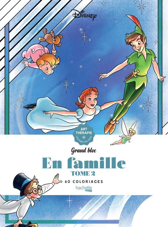 Grands blocs Disney En famille - Tome 24: 24 coloriages: Amazon.co