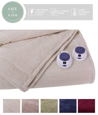 SoftHeat Ultra Micro-Plush Electric Blanket Black Friday Deal