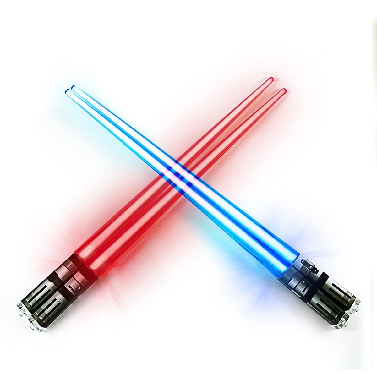 Buy Chop Sabers Light Up Lightsaber Chopsticks Set, 2 Pairs, Red Blue  Online at Low Prices in India - Amazon.in
