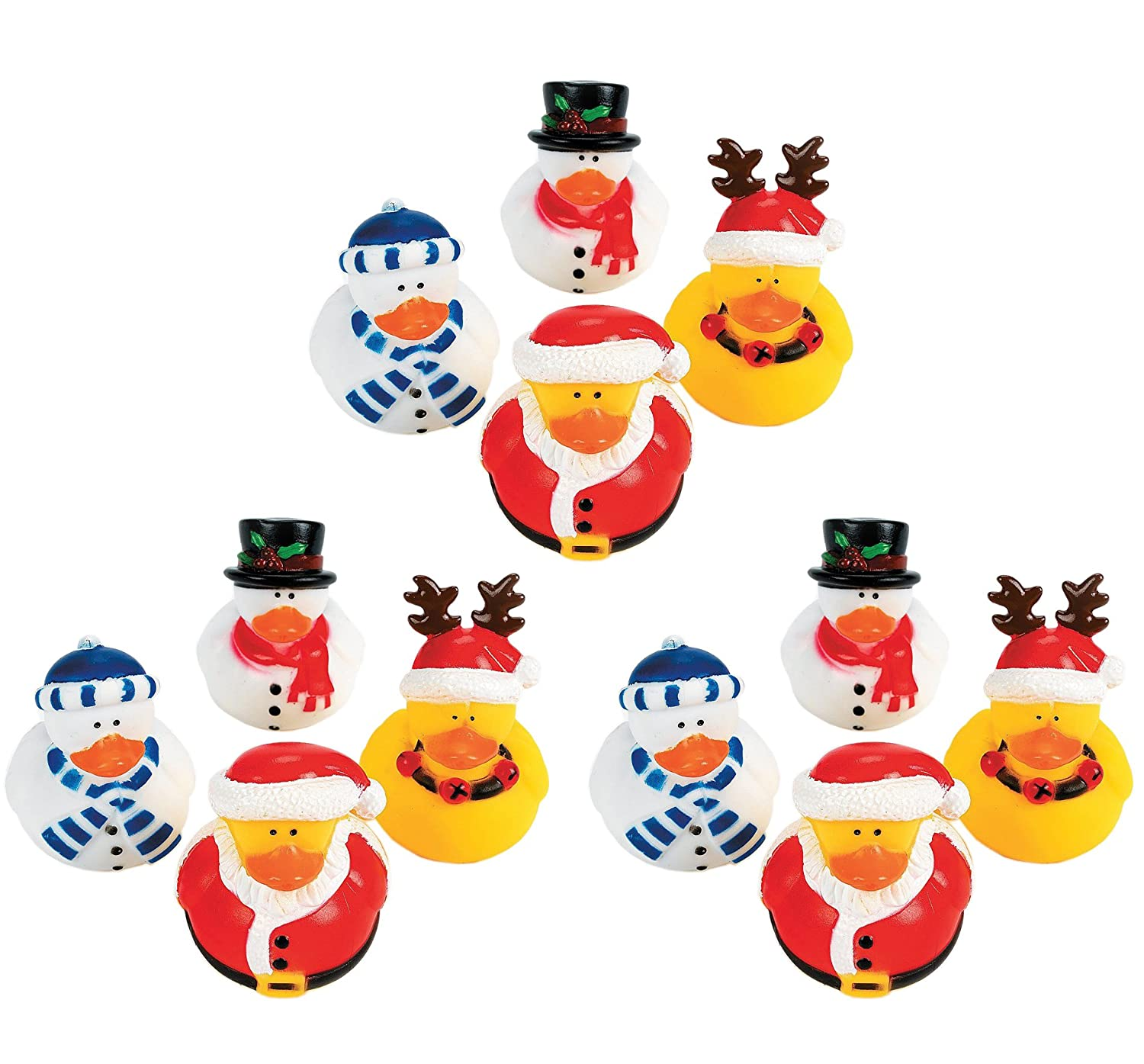 The Night Before Christmas Christmas Rubber Ducky  12 Count