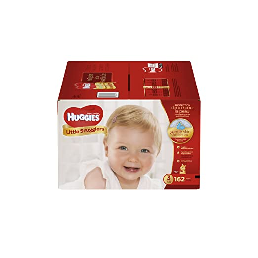 Huggies Little Snugglers Baby Diapers, Size 3