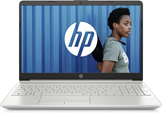 """HP 15-dw0051nf PC Portable 15,6"""" FHD Argent (Intel Core i3, RAM 4 Go, 1To + SSD 128 Go, AZERTY, Windows 10)"""