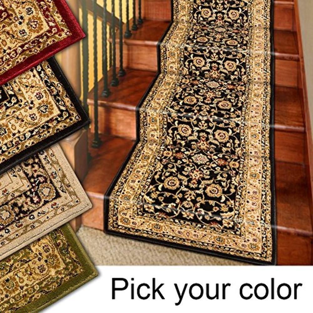 Amazon Com Marash Luxury Collection 25 Stair Runner Rugs Stair | Carpet Stair Runners Near Me | Stair Treads | Wood | Flooring