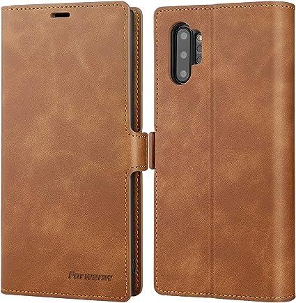 Amazon Com Galaxy Note 10 Plus Wallet Case Premium Leather Note
