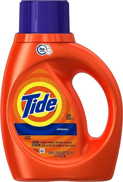 Tide Laundry Detergent Liquid Laundry Soap He Turbo Clean Original Scent 25 Loads Amazon Ca Health Personal Care