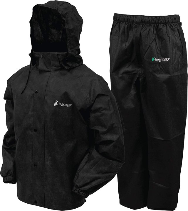 FROGG TOGGS Mens Classic All-sport Waterproof Breathable Rain Suit:  Amazon.co.uk: Clothing