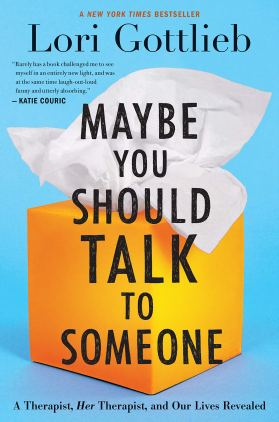 Image result for maybe you should talk to someone book
