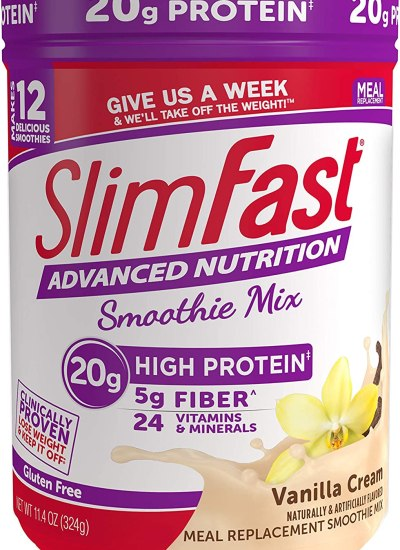 SlimFast Advanced Nutrition Vanilla Cream Smoothie Mix