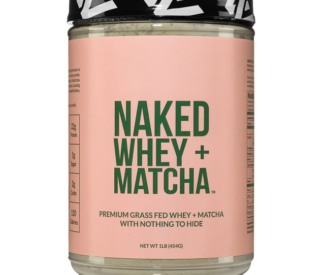 Amazon Com Naked Whey Matcha Protein Lb All Natural Grass