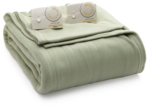 Biddeford Comfort Knit Electric Heated Blanket Black Friday Deal