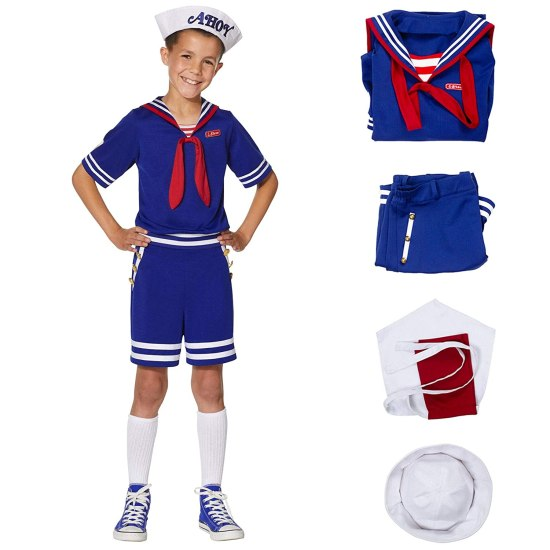 Steve Scoops Ahoy Halloween Costume for Boy
